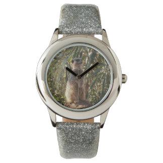 Meerkat auf Wachdienst, Armbanduhr