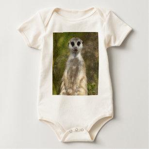 Meerkat Baby Strampler