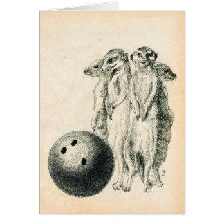Meerkat Bowling Karte