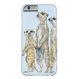 Meerkat Familie Barely There iPhone 6 Hülle