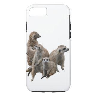 Meerkat Familie iPhone 8/7 Hülle