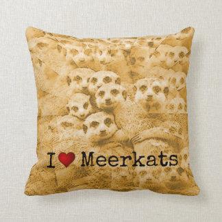 Meerkat Liebe-niedliche Kissen