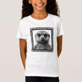 Meerkat Mädchen-Baby - Puppe T - Shirt