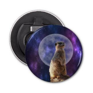 Meerkat, Mondschein-Schutz, magnetische Runder Flaschenöffner