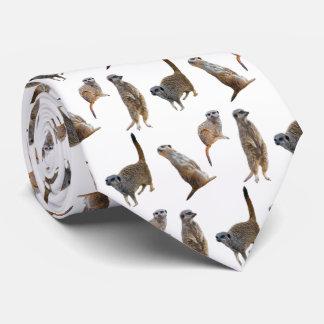 Meerkat Raserei-Krawatte (wählen Sie Farbe) Personalisierte Krawatte