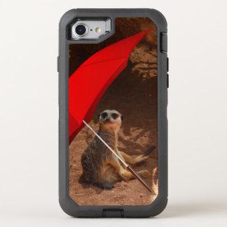 Meerkat Sun Smart, iPhone sieben Verteidiger-Fall OtterBox Defender iPhone 8/7 Hülle