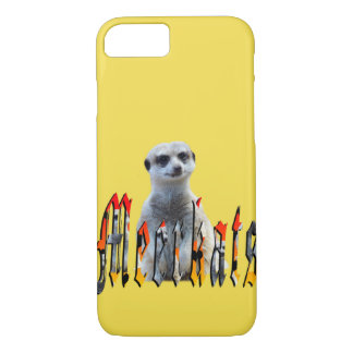 Meerkat und Meerkats Bild-Logo, iPhone 8/7 Hülle