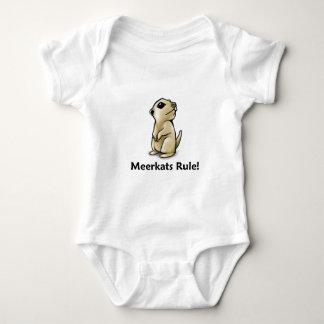 Meerkats Regel! Baby Strampler