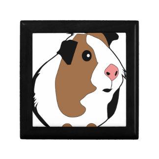 Meerschweinchen-Illustration Erinnerungskiste