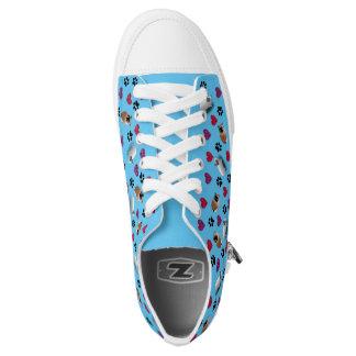 Meerschweinchen-Liebhaber-Schuhe Niedrig-geschnittene Sneaker