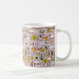 Meerschweinchen-Tasse im Rosa Kaffeetasse
