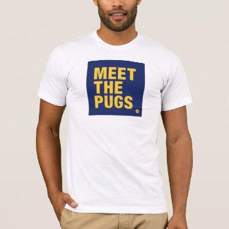 MEET THE PUGS LOGO T-Shirt