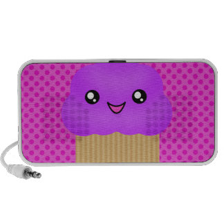 Mega- Kawaii niedlicher Trauben-Kuchen-Lautspreche iPod Speaker