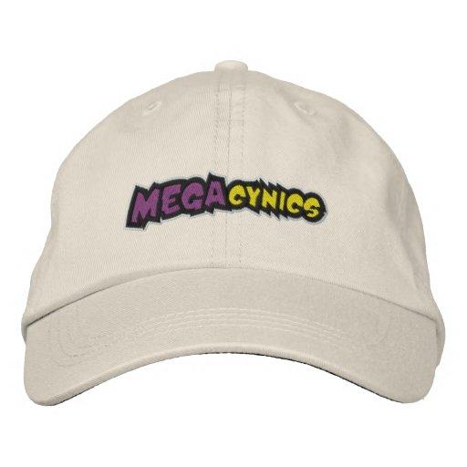 MegaCynics Ball-Kappe Besticktes Baseballcap