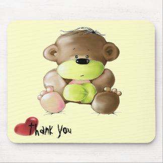Megg: Ein niedlicher Teddybär - traurig, danke Mauspads