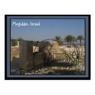 Megiddo Israel Postkarte