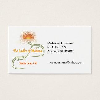 MEHANA Thomas P.O. Box 13Aptos,… Visitenkarte