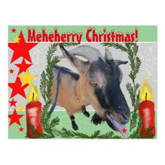 Meheherry Weihnachten! Postkarte