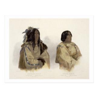 Mehkskeme-Sukahs, Blackfoot Leiter und Postkarte