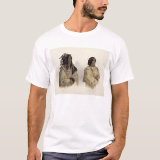 Mehkskeme-Sukahs, Blackfoot Leiter und T-Shirt
