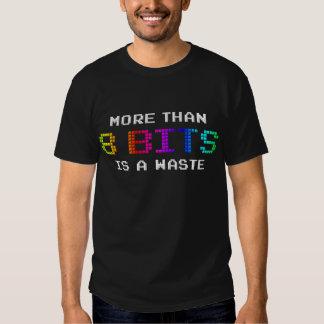 Mehr als 8 Bits ist ein Abfall Tshirts