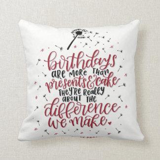 Mehr als Geschenke u. Kuchen-Kissen Kissen