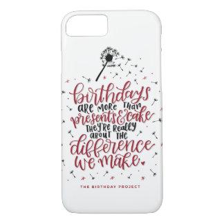 Mehr als Geschenke u. Kuchen-Telefon-Kasten iPhone 8/7 Hülle