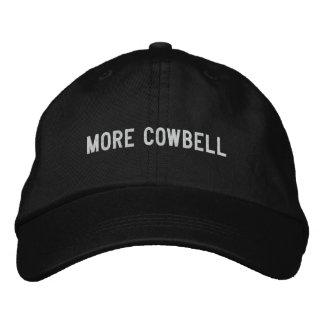 Mehr Cowbell Bestickte Baseballkappe