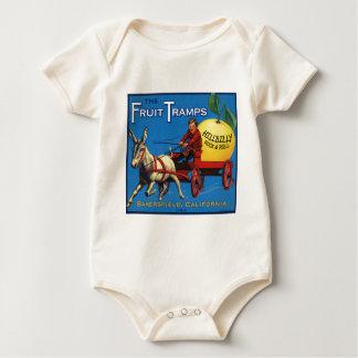 Mehr Frucht-Vagabund-Spaß Baby Strampler