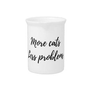 Mehr Katzen, weniger Probleme Krug