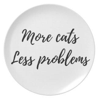 Mehr Katzen, weniger Probleme Teller