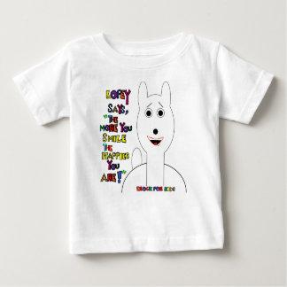 Mehr lächeln Sie! Baby T-shirt