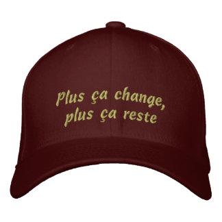 Mehr Sache-Änderung Bestickte Kappe