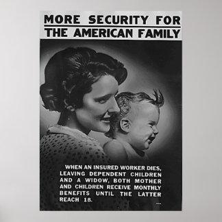 Mehr Sicherheit für die amerikanische Familie Poster