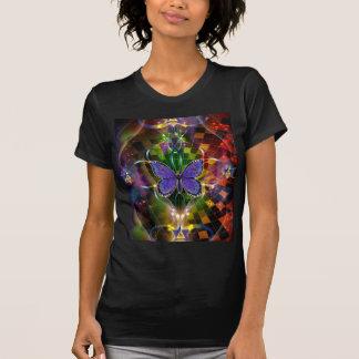 Mehrdimensionale Umwandlung - heilige Geometrie T-Shirts