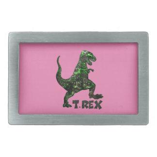Mehrfache Produkte Dinosauriers T Rex ausgewählt Rechteckige Gürtelschnalle