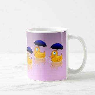 Mehrfache Regenschirm-Enten Kaffeetasse