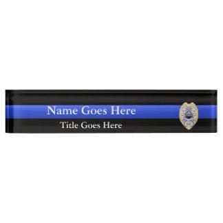 Mehrfache Wahl-Polizei-Leiter-Abzeichen-Adler-Rang Namensplakette