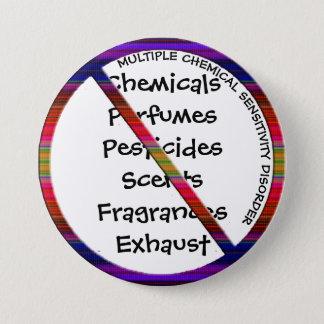 Mehrfacher chemischer Knopf der Runder Button 7,6 Cm
