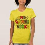 Mehrfarben2. Grad schaukelt T-Shirts und Geschenke