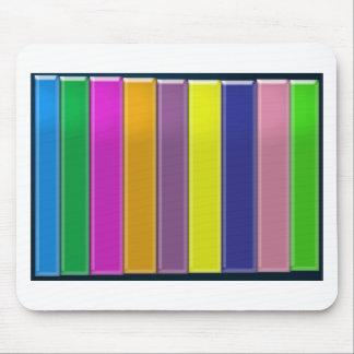 Mehrfarben-SPEKTRUM - elegante coole Energie Mauspads