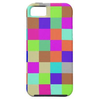 MehrfarbenKaro-Muster Schutzhülle Fürs iPhone 5