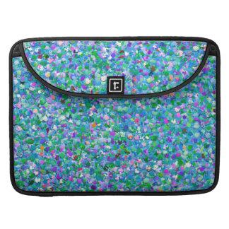 Mehrfarbenmosaik-moderner Korn-Glitzer #2 Sleeve Für MacBook Pro