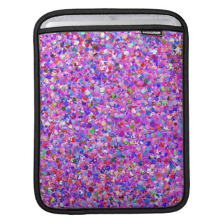 Mehrfarbenmosaik-moderner Korn-Glitzer #3 iPad Sleeve