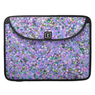 Mehrfarbenmosaik-moderner Korn-Glitzer #6 MacBook Pro Sleeve