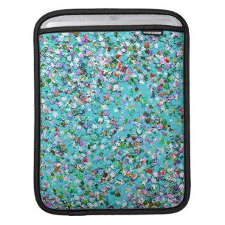 Mehrfarbenmosaik-moderner Korn-Glitzer #7 Sleeve Für iPads
