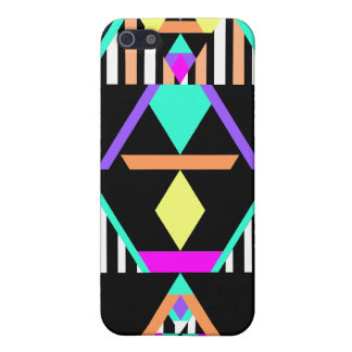MehrfarbenPop Stammes- iPhone 5 Case