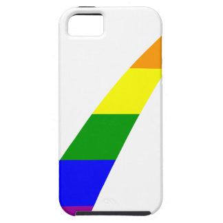 Mehrfarbenregenbogen-Karo-Kennzeichen iPhone 5 Case
