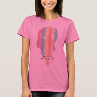 Mehrfarbentext der pudel-Liebe-w/Optional T-Shirt