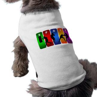 Mehrfarbenverpacken-Emblem Shirt